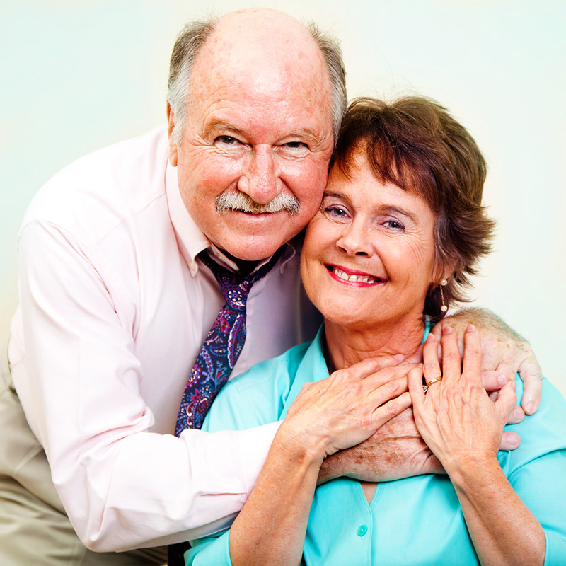 Baby boomer couple. PhotoDune.