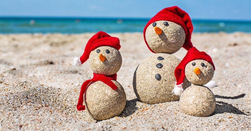 Celebrating a No-Snow, Sun-Filled Christmas