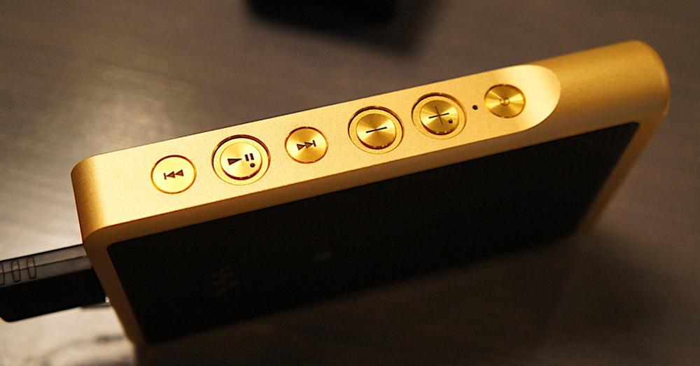 Gold Sony Walkman