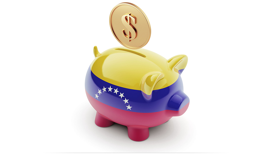 Venezuela piggy bank