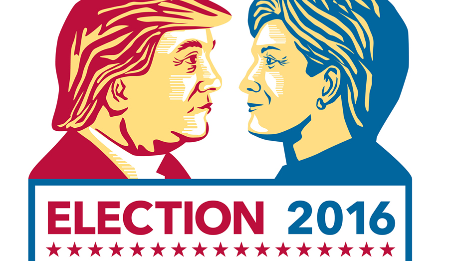 Hilary Clinton & Donald Trump Election 2016