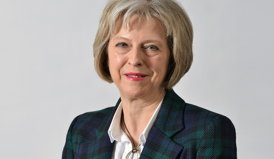 Theresa May UK Official Picture