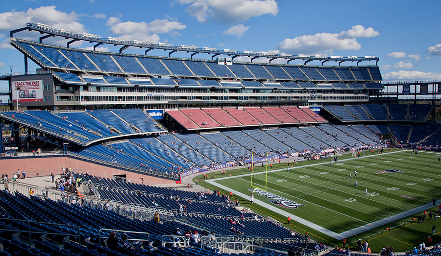 Gillette Patriots stadium