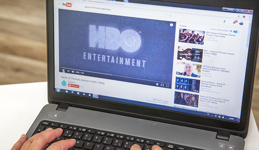 HBO on computer