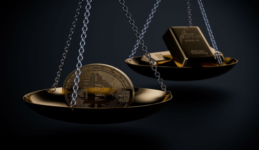 Does Bitcoin outweigh Gold