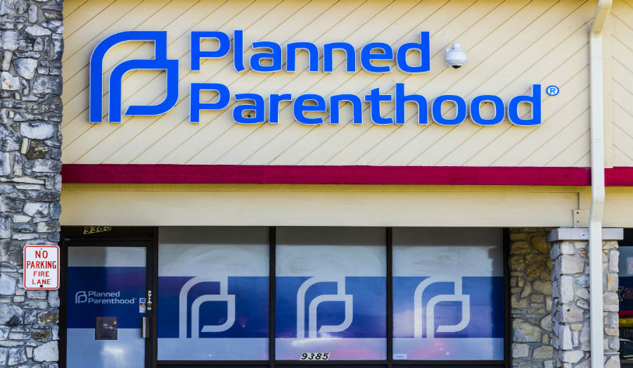 planned parenthood store front