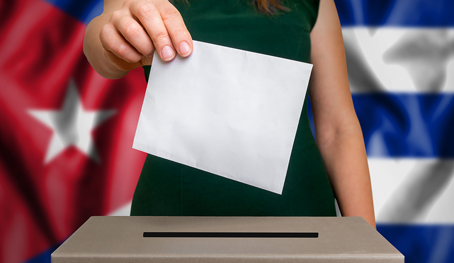 Cuban vote ballot
