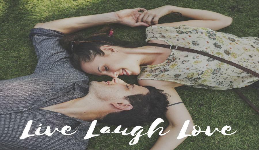 Live Laugh Love couple