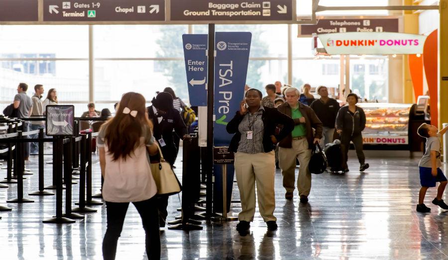 TSA pre Check line