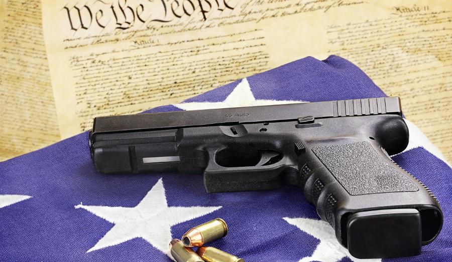 Glock 21 pistol in .45 ACP