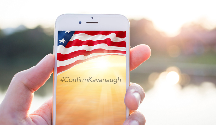 #ConfirmKavanaugh