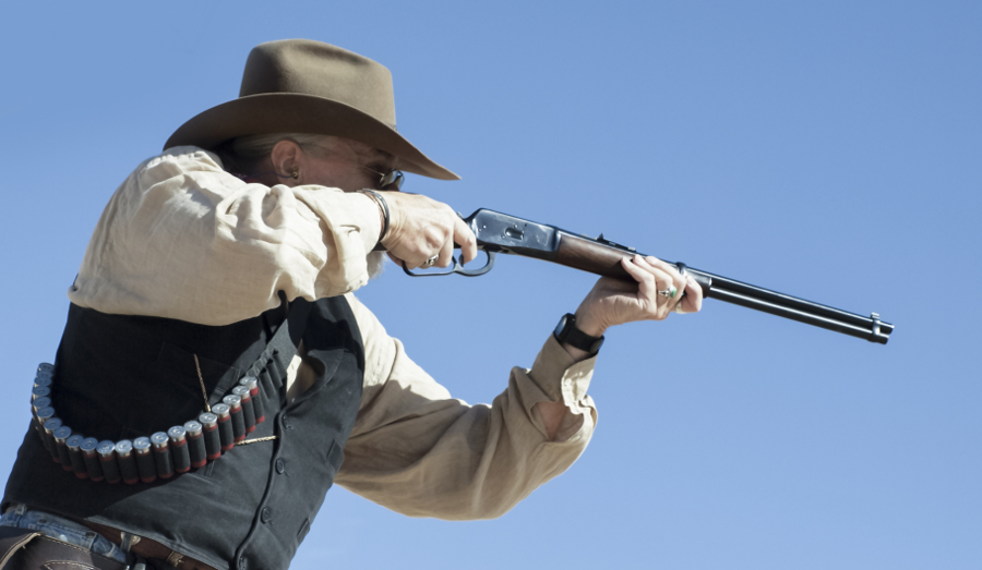 1892 rifle in cowboy action shooting