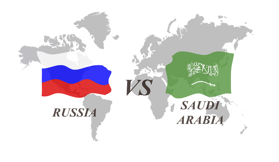 Russia and Saudi Arabia are treated differently by the US