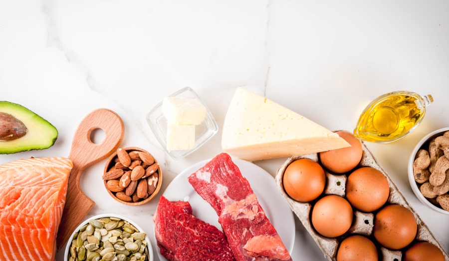 Foods in the ketogenic diet