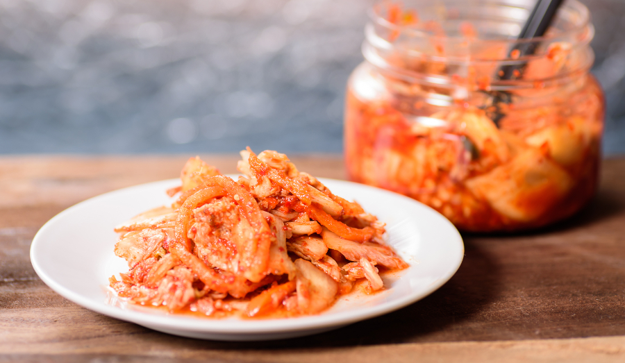 Kimchi and sauerkraut are healthy for you