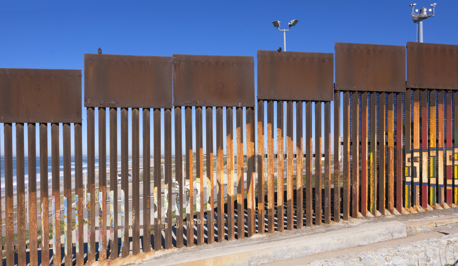 Border wall at Tijuana