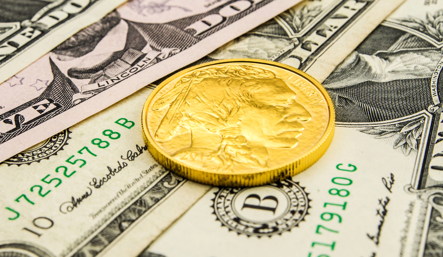 The Gold Buffalo bullion coin