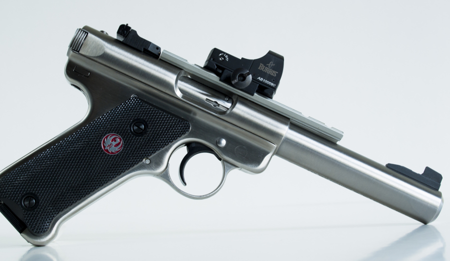 The Ruger .22 pistols