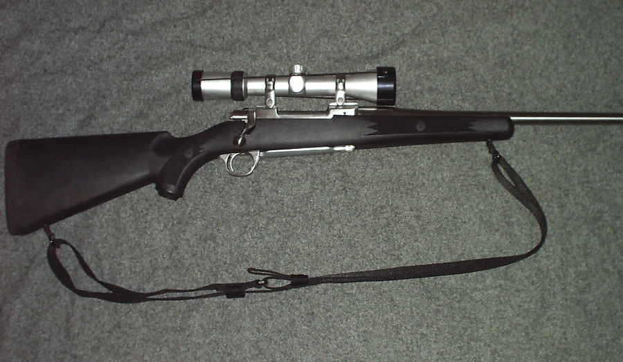 The Ruger M77 rifle