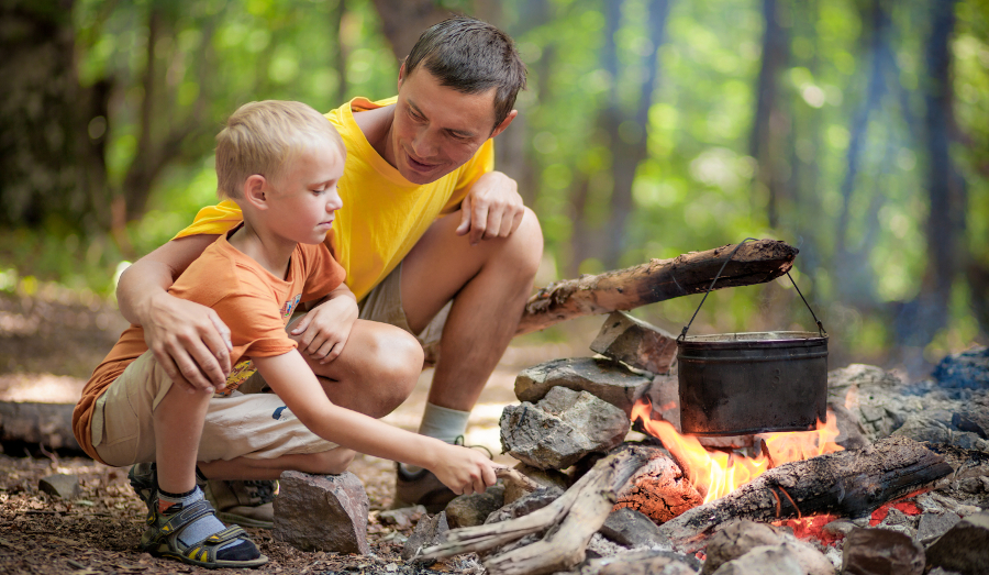 Teach your children useful survival skills