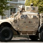 US MRAPs in enemy hands