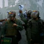 Venezuela aid convoy burned