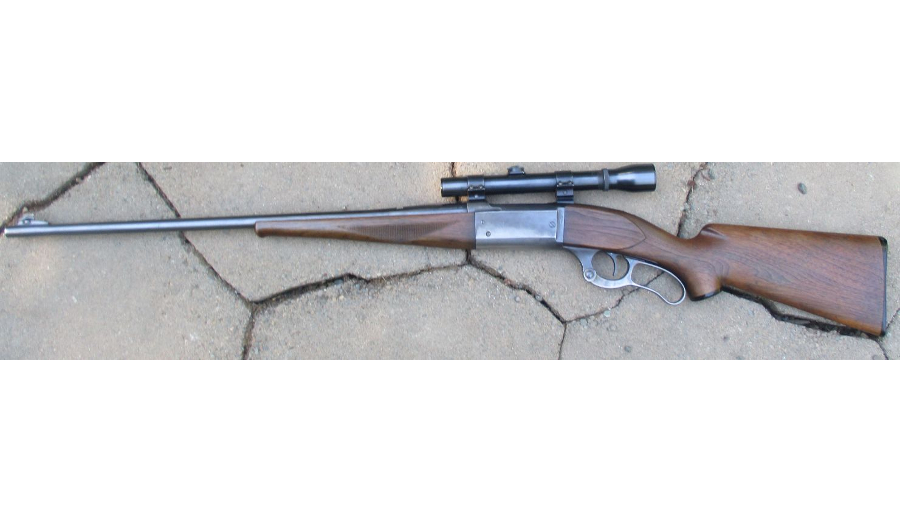 Savage 99 lever action rifle