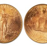 1914 Saint-Gaudens Double Eagle gold coin